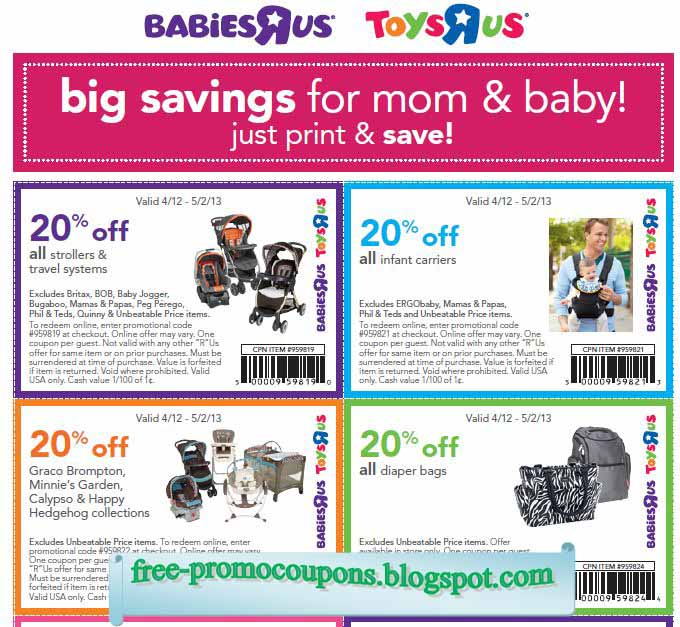 It's just a graphic of Revered Baby R Us Printable Coupons