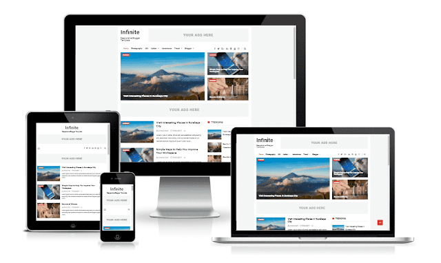 Download Infinite Responsive Blogger Theme