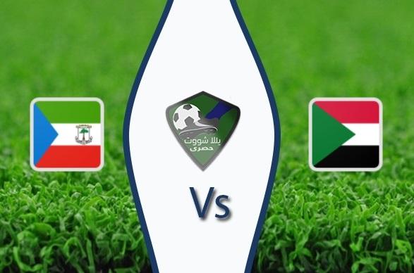مشاهدة مباراة السودان وغينيا الإستوائية بث مباشر