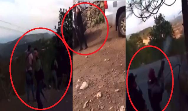 """Videos: El Cártel de Sinaloa y El CJNG se dan brutal enfrentamiento en """"El Triangulo Dorado"""" Sicarios del MZ se ven celebrando su victoria"""