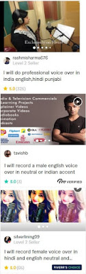 voice over indian artists