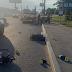 Мізки на дорозі: в Києві п'яний чоловік штовхнув велосипедиста під колеса автовоза - сайт Оболонського району