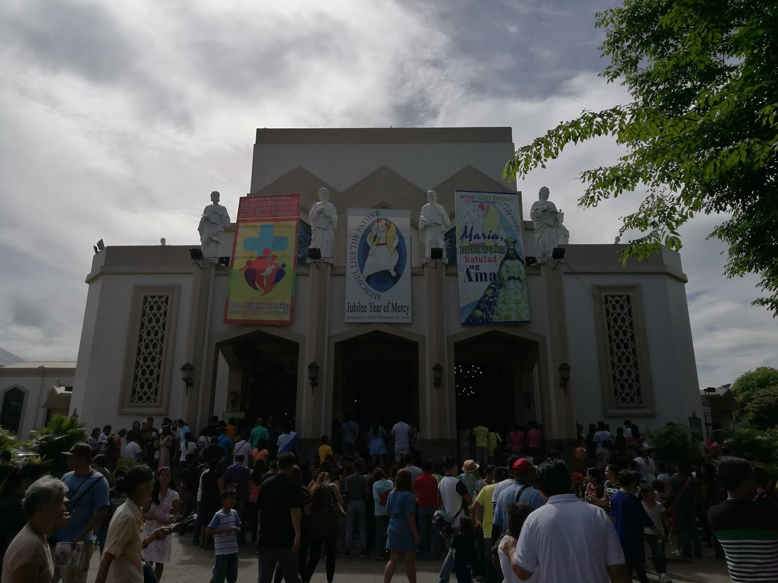 Huawei P9 Sample Camera Shot - Antipolo Cathedral