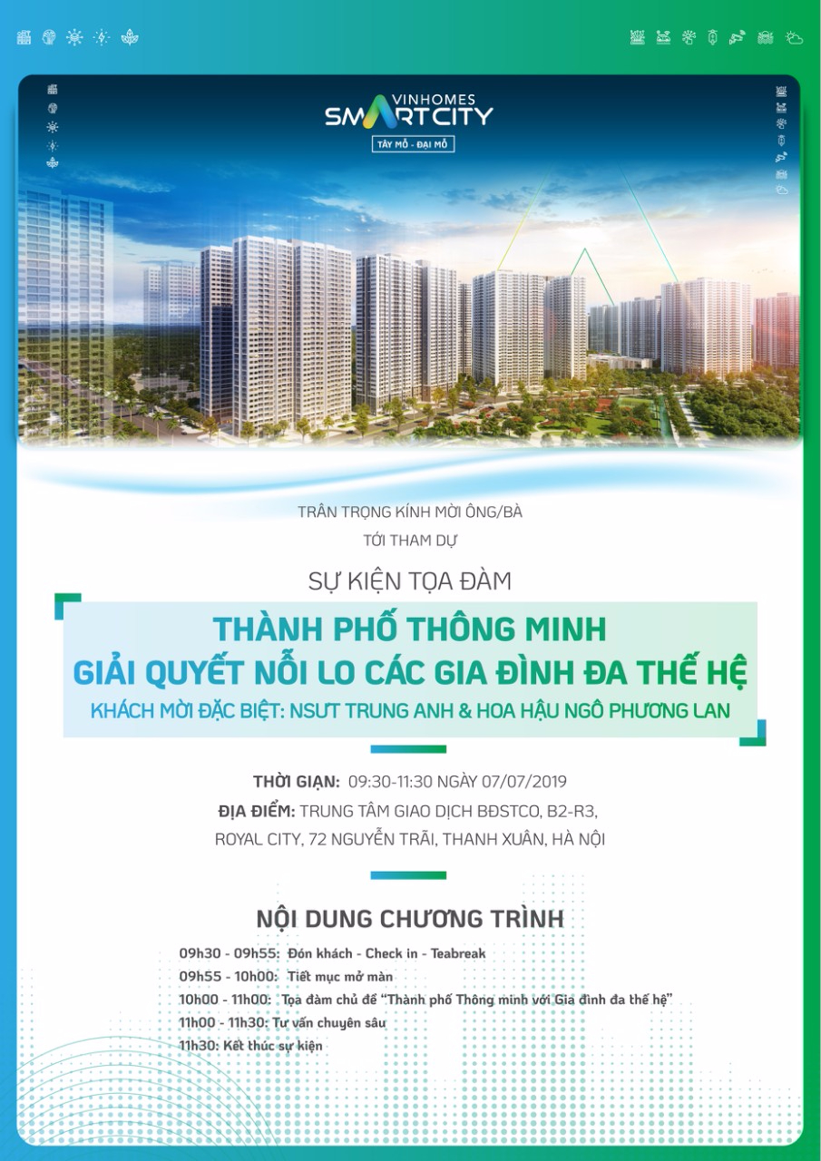 toa dam vinhomes smart city