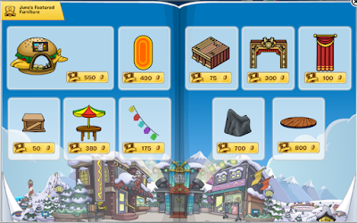 Club Penguin Furniture & Igloo Catalog Cheats June 2016