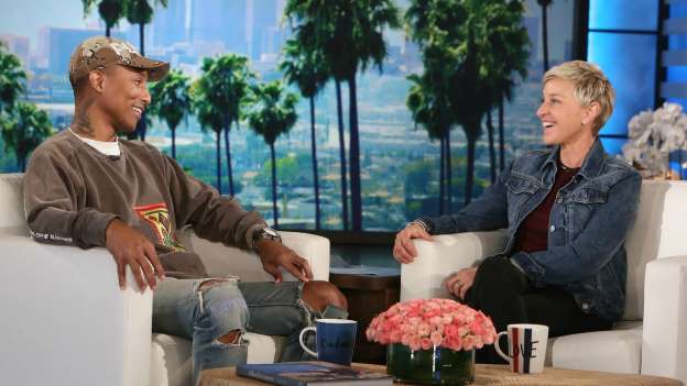 Ellen DeGeneres and Pharrell Williams Discuss Kim Burrell's Cancelled 'Ellen' Appearance