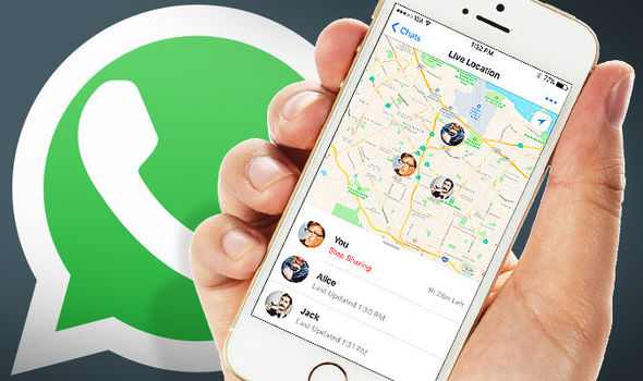 cara mengetahui live location real time di whatsapp
