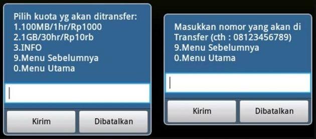 Cara Transfer Kuota Internet Telkomsel Tanpa Biaya Cacatrik Com