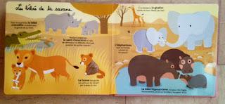 Mes bébés animaux à toucher - Editions MILAN - Les bébés de la savane