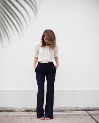 outfit elegante para primera entrevista de trabajo