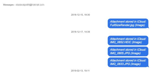 Come esportare le chat di iMessage da iCloud