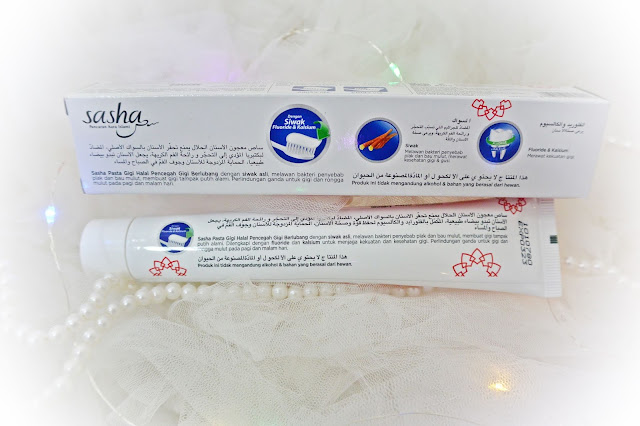 Sasha Pasta Gigi Halal Pencegah Gigi Berlubang