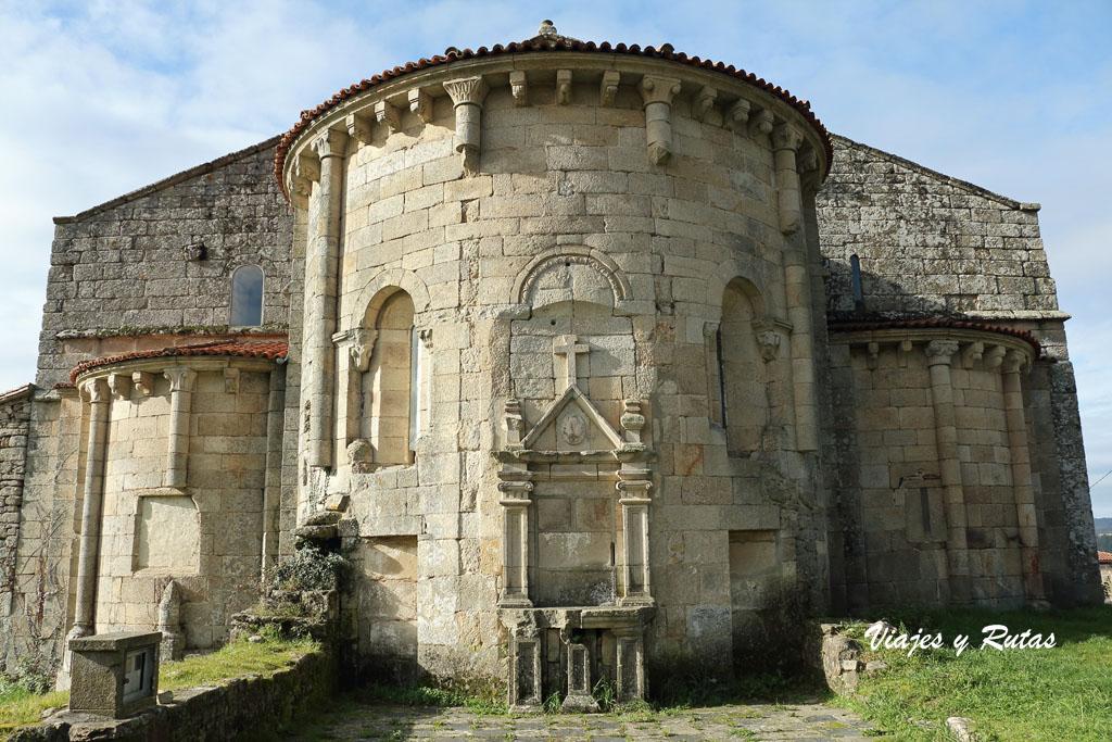 Absides del Monasterio de Xunqueira de Espadanedo