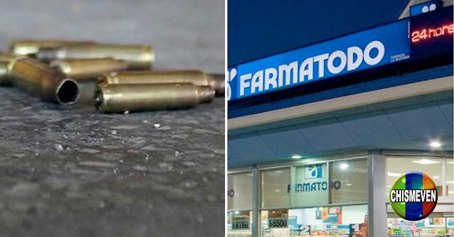 Policía de Guarico mató a una muje dentro del Farmatodo y luego se suicidó