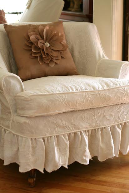 Custom Slipcovers Shelley Matelesse Bedspread Slipcover