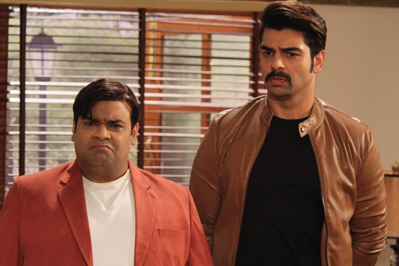 Manav (Kiku Sharda) and Aditya (Vipul Roy) in Sony SAB's Partners- Trouble ho gayi double