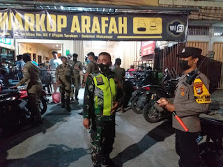 Operasi Yustisi, Polres Pelabuhan Makassar terus lakukan Patroli dialogis bersama Stakeholder