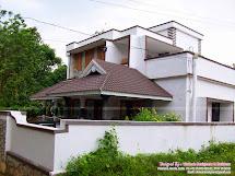 1800 Sq.ft House Kannadi Palakkad - Kerala Home Design