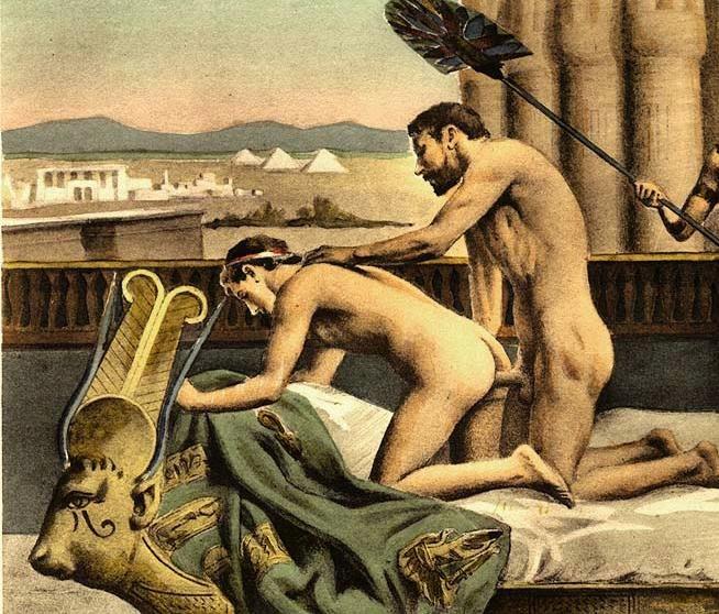 Секс в риме в картинах