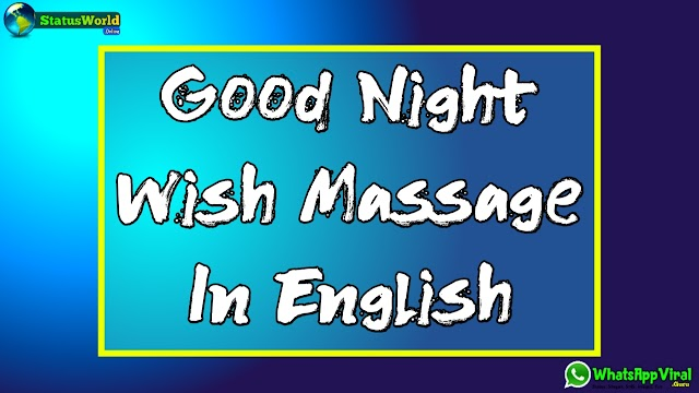 Best Good Night Wish Massage 2020