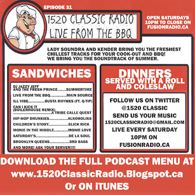 1520 Classic Radio - Live at the BBQ!
