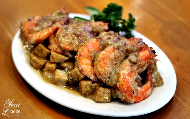 Shrimp and Tofu Oriental at Giligans