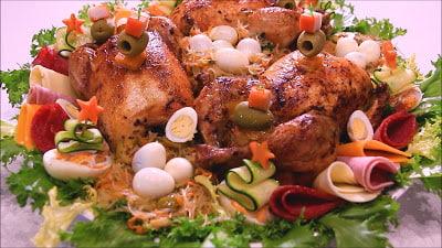 دجاج معمر بالشعرية الصينية 13