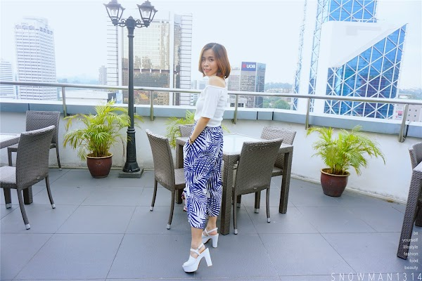 Pattern Culottes on Point Weekend Outfit #28