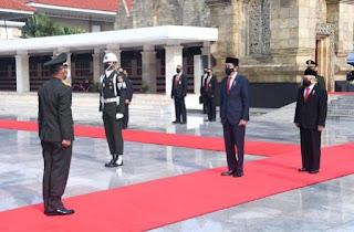 Presiden Jokowi Pimpin Upacara Peringatan Hari Pahlawan Tahun 2020