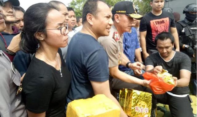 Ternyata Ada Peran Penting TKW Ini Dibalik Suksesnya Penyelundupan Narkoba 1 Ton ke Indonesia dari Taiwan