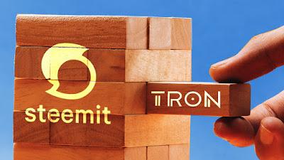 Steemit على شراكة مع TRON و Steemit تخطط لتحويل التوكن إلى شبكة TRON