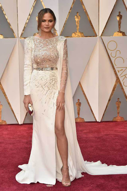 Chrissy Teigen at 89th Annual Academy Awards