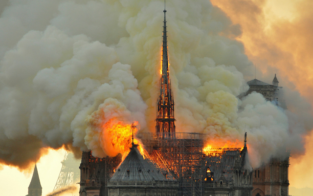 France will hold contest to redesign Notre Dame's spire