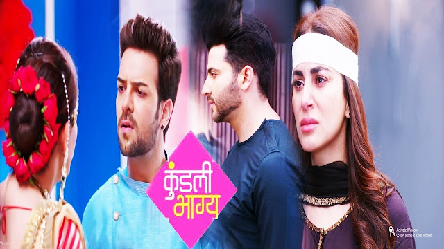 Preeta protects dignity accepts Rishabh as victory crown in Kundali Bhagya
