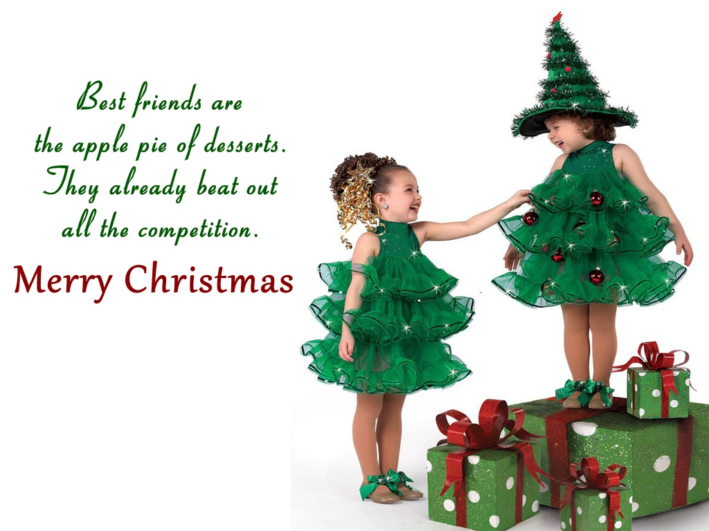Christmas Friendship Card