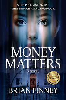 amateur sleuth novel, female detective fiction, detective fiction, money matters novel, brian finney