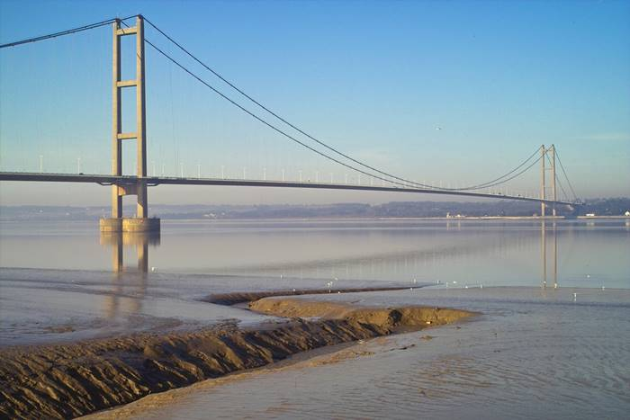 United Kingdom. Humber Bridge. The main span is 1,410 m. (David Wright)