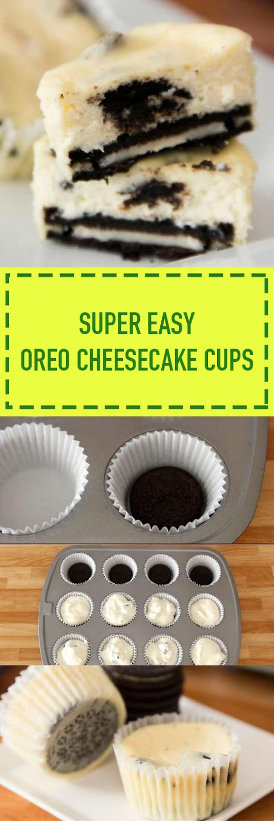 Oreo Cheesecake Cups