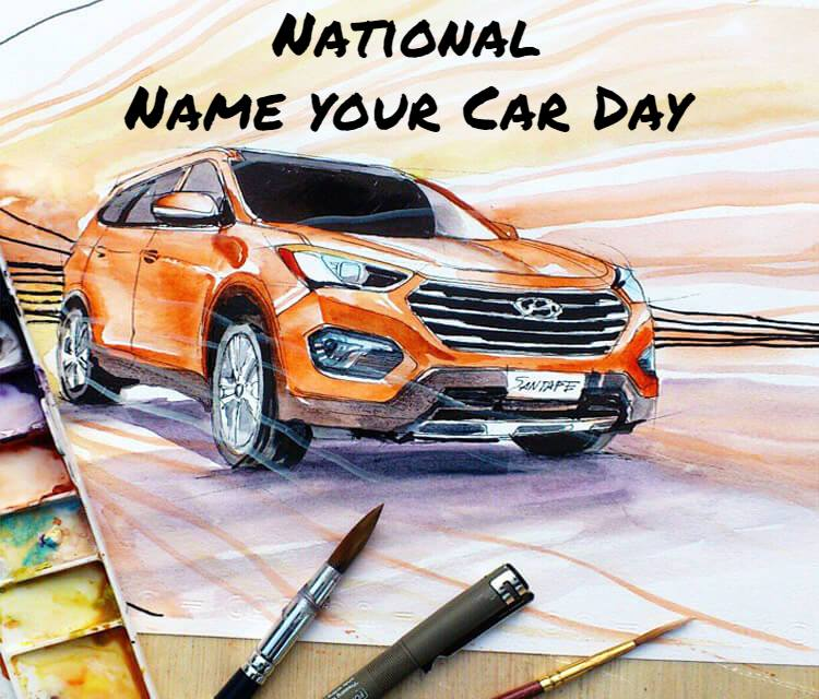 National Name Your Car Day Wishes Sweet Images