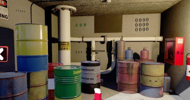 Geniefungames Oil Depository Room Escape Walkthrough
