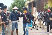 Langkah Nyata, GMNI Surabaya Turun Langsung ke Masyarakat Lawan Penyebaran Covid-19
