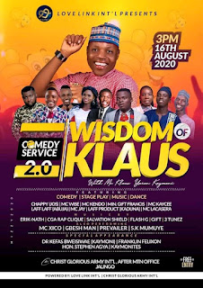Wisdom Of Klaus, Love Link Int'l Present One Of The Biggest Ever Comedy Gathering