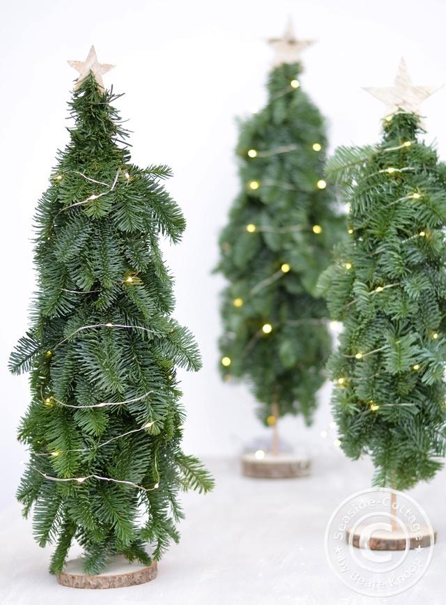 Natürliche Weihnachtsdeko selbermachen