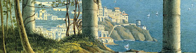 Felix Mendelssohn - A View of Amalfi (detail)