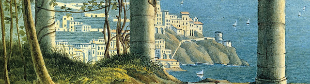 Felix Mendelssohn - A View of Amalfi (detail)