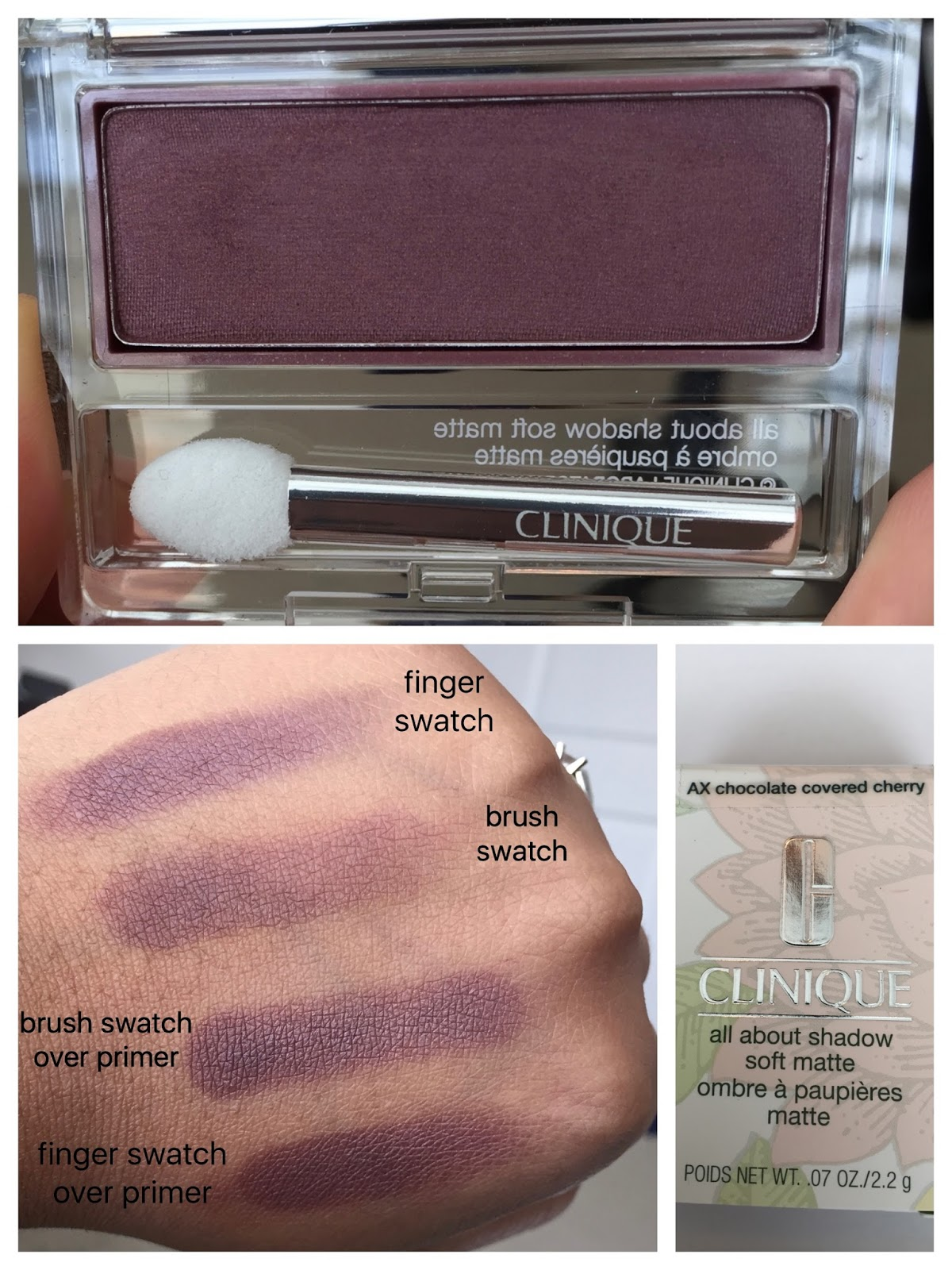 Clinique Chocolate Covered Cherry Eyeshadow