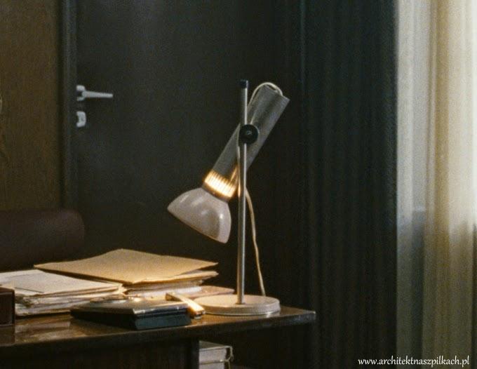 lampa, jack strong scenografia, lampa prl,