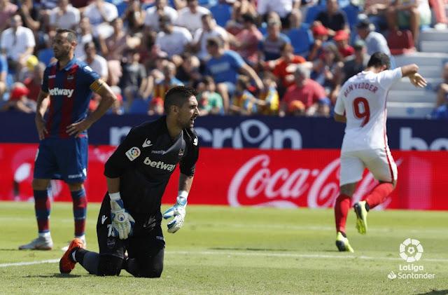 Crónica Levante 2 - Sevilla FC 6