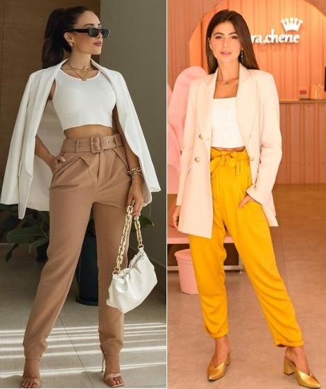 Guia de moda Como usar blazer parte 2, Agatha Braga, Cici Navarro