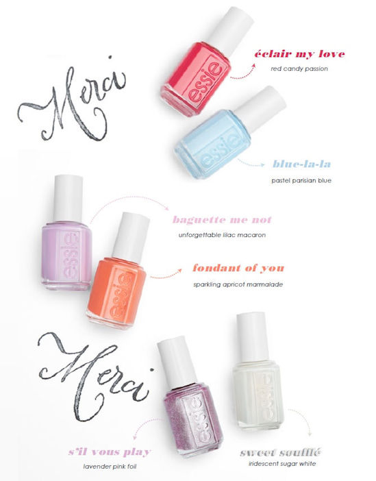 Essie Pastel Nail Polish Set | Splendid Wedding Company